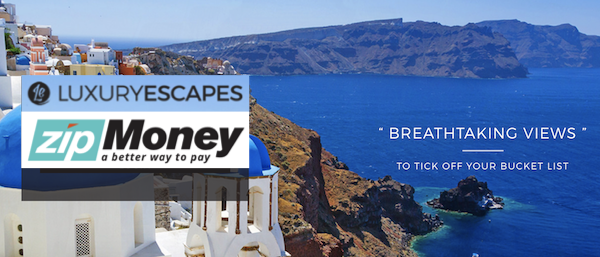 Zip Money Luxury Escapes