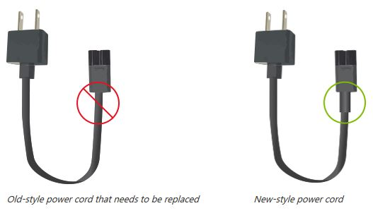 Microsoft begins voluntary replacement program for some Surface Pro power cords