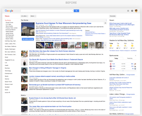 Google News new design with a new age look launched