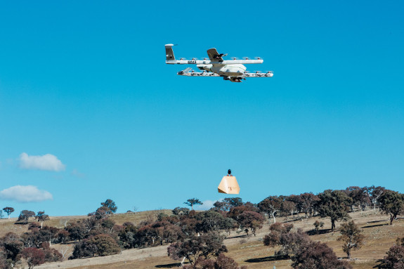 Google Is Sending Burito Drones To Aussie Homes