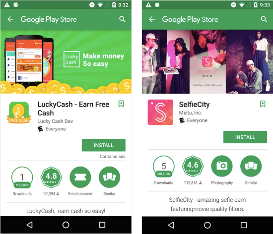Google Removes 500 Android Apps from Google Play Store