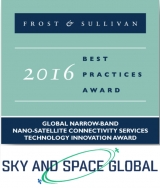 Sky and Space blasts off with global technology innovation award