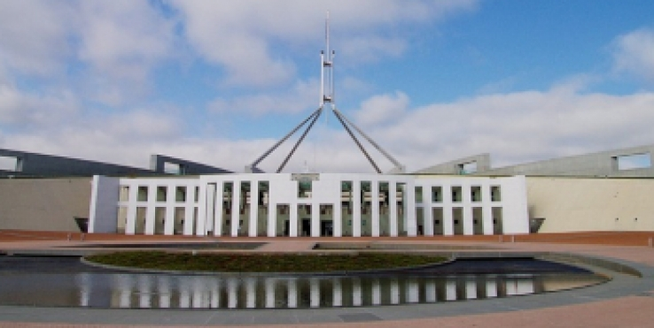 Federal parliament was just hacked