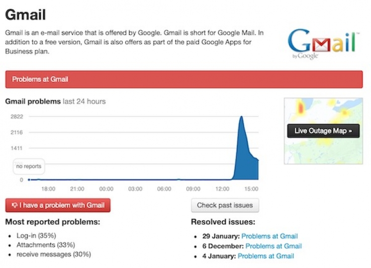 Gmail Is Having A Massive Outage In Australia Right Now