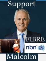 ELECTION WINNER? Malcolm Turnbull promises full fibre NBN for Australia at last