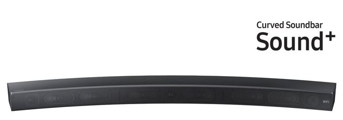 SS QLED curved soubnd bar
