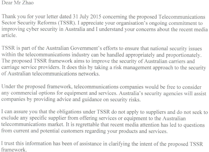 turnbull letter
