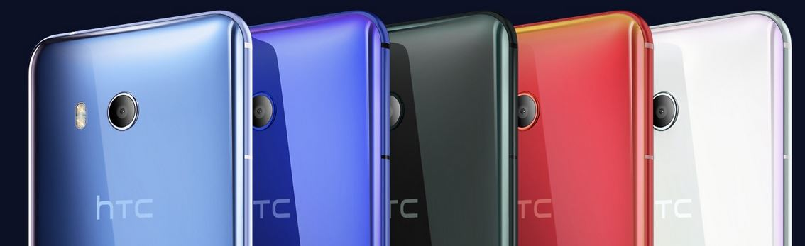 HTC U11 colours