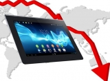 Global tablet sales 'on a slippery slope'
