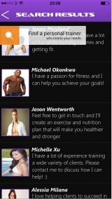 Review - Fitness Match for iOS
