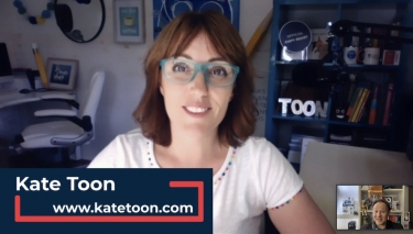 VIDEO Interview: Kate Toon talks Clubhouse and the wonderful multiverse of misfit entrepreneurialism