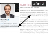 Former Assistant Minister for Innovation, Wyatt Roy, misrepresented on own site