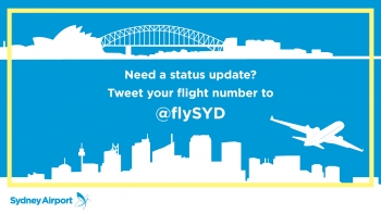 Sydney Airport launches real-time flight information service for passengers