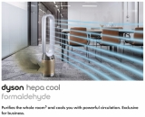 FULL VIDEO: Dyson's new commercial HEPA purifier targets formaldehyde for cleaner air as the world returns to offices and classrooms