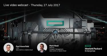 Webinar invitation - Discover the New Generation Compute Experience from HPE
