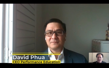 VIDEO Interview: David Phua, CEO of Performance Education, talks interns and 2020