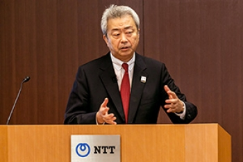 NTT CEO Jun Saweda