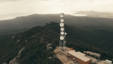 Telstra radio tower, Waterhouse, Tasmania