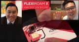 VIDEO Interviews and review: Flexiroam X in action