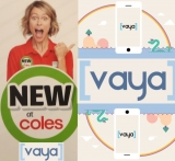 Vaya's new offer at Coles: 6 mths talk with 5GB pm data for $150