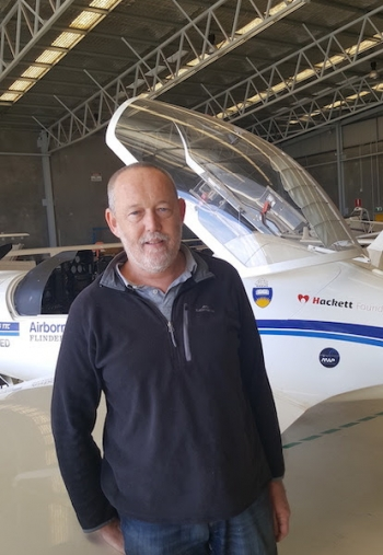 Airborne Research Australia director Dr Andrew McGrath