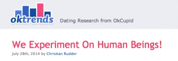 OkCupid says psychology experiments on users are normal