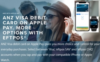 ANZ extends Apple Pay offering with the choice of using eftpos