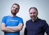 Instaclustr CEO Peter Nichol (right) with CTO Ben Bromhead