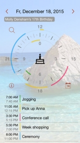 Review - Jiffies - Calendar in the watch for iOS