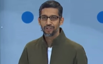 "Sundar Pichai: ""We are thoughtfully considering a variety of options for how to offer services in China in a way that is consistent with our mission."""
