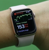 Aussie Women's Cricket Team uses AIS Apple Watch app to improve player performance