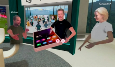 Optus shows off what 5G and VR can add to virtual meetings