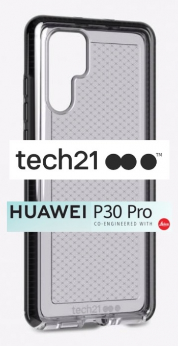 Tech21 launches cases, including antimicrobial, for Huawei P30 and P30 Pro