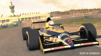 Alan Jones drives F1 2013