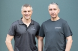 Emesent's CEO & co-founder Stefan Hrabar and CTO & co-founder Farid Kendoul