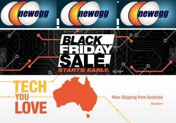 Newegg brings Black Friday deals to Australia