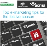 ACMA's top anti-spamming e-marketing tips for the festive season