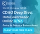 FREE ONLINE EVENT INVITE Chief Data and Analytics Officer Deep Dive Series: Data Innovation Online