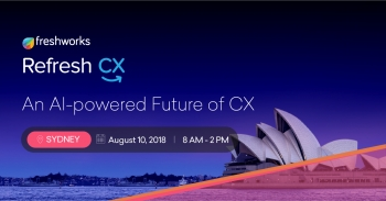 Refresh:CX - An AI-focused Customer Experience event in Sydney, hosted by Freshworks