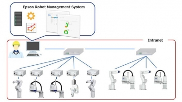 Epson simplifies industrial robot management