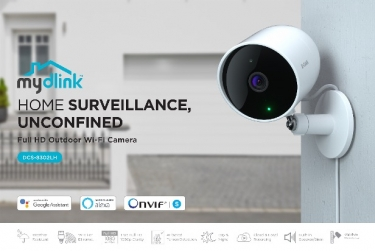 VIDEOS: D-Link launches advanced new Wi-Fi camera with 'unconfined surveillance' backed by AI smarts