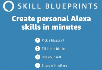 VIDEO: Amazon lets you create your own personalised Alexa skill 'in just minutes'