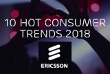 Tech turning 'human': Ericsson's 2018 'hot consumer trends'
