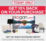 Kogan's latest creditworthy stunt: get 10% back as Kogan Credit