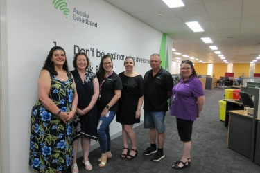 Aussie Broadband opens new call centre, partners with Learn Local