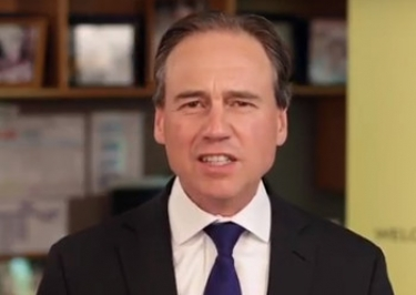 Greg Hunt faces plenty of opposition to his vaping ban, but is holding firm.