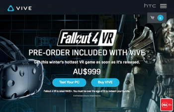 HTC Vive's new Fallout 4 VR Bundle, offers deal for current Vive owners