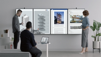 VIDEO: Microsoft launches impressive collaborative Surface Hub 2, due 2019