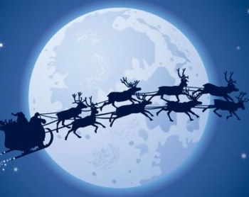 Santa's sleigh more reliable than couriers this season
