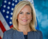 Former US secretary of Homeland Security Kirstjen Nielsen.